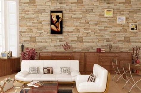 desain keramik batu alam dinding tampak minimalis