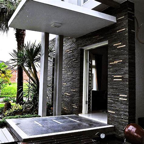 desain rumah batu alam arsitek indo kontraktor jasa