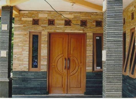 ide keramik dinding depan rumah minimalis