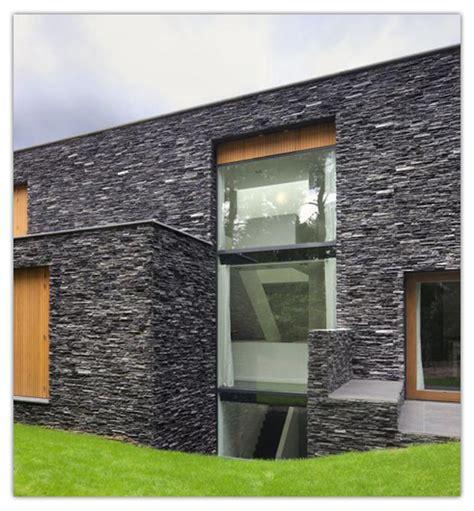 desain rumah minimalis batu alam terbaik desain rumah