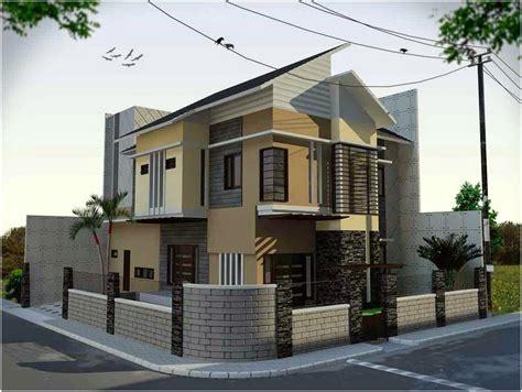 model desain pagar rumah minimalis modern klasik