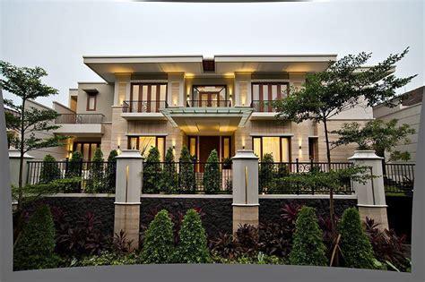 desain rumah batu alam terkeren dibangun