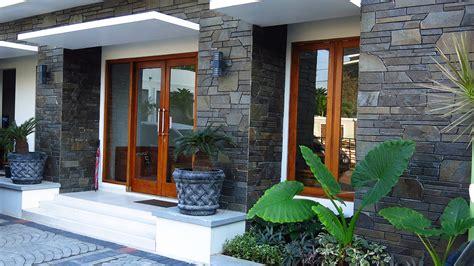 model rumah minimalis batu alam terbaru