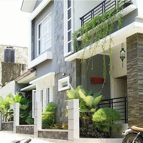 inspirasi desain teras rumah minimalis batu alam