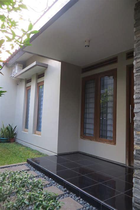 desain teras rumah batu alam desain rumah mesra