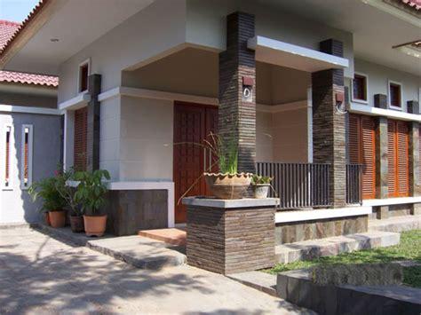 model teras rumah minimalis modern mempesona