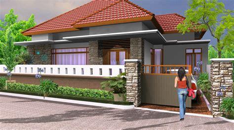 gambar pagar batu alam rumah minimalis terbaru