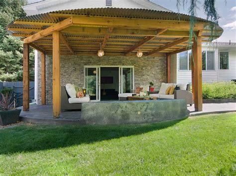model teras rumah minimalis batu alam desain rumah