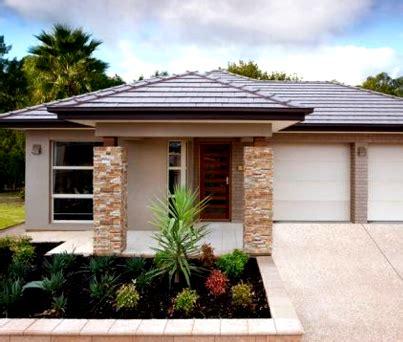 desain teras rumah menggunakan batu alam terbaru desain
