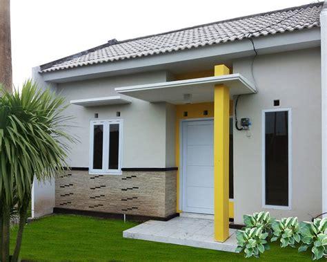 gambar desain model rumah minimalis huk lantai batu alam