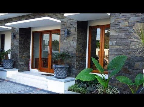 elegan kokoh desain model teras rumah minimalis