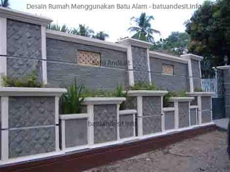 desain rumah menggunakan batu alam batuandesitinfo