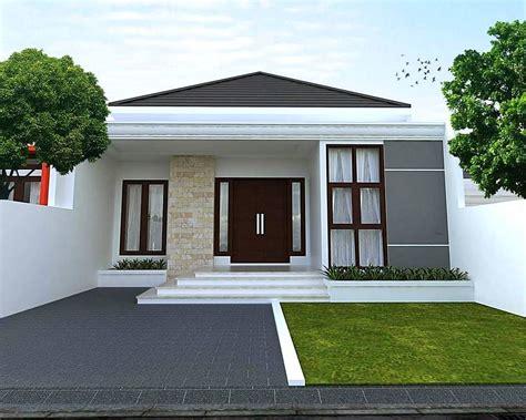 desain rumah minimalis model villa