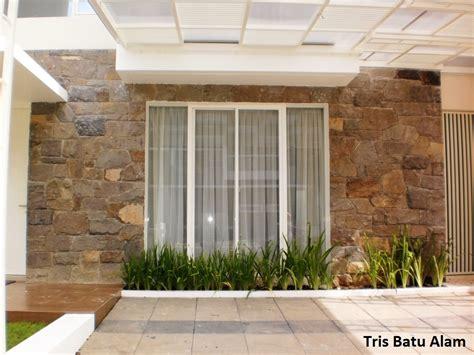 desain rumah rumah minimalis batu alam images
